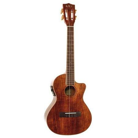 Kala Ka Ktge C Hawaiian Koa Tenor Cutaway Acoustic Electric Ukulele