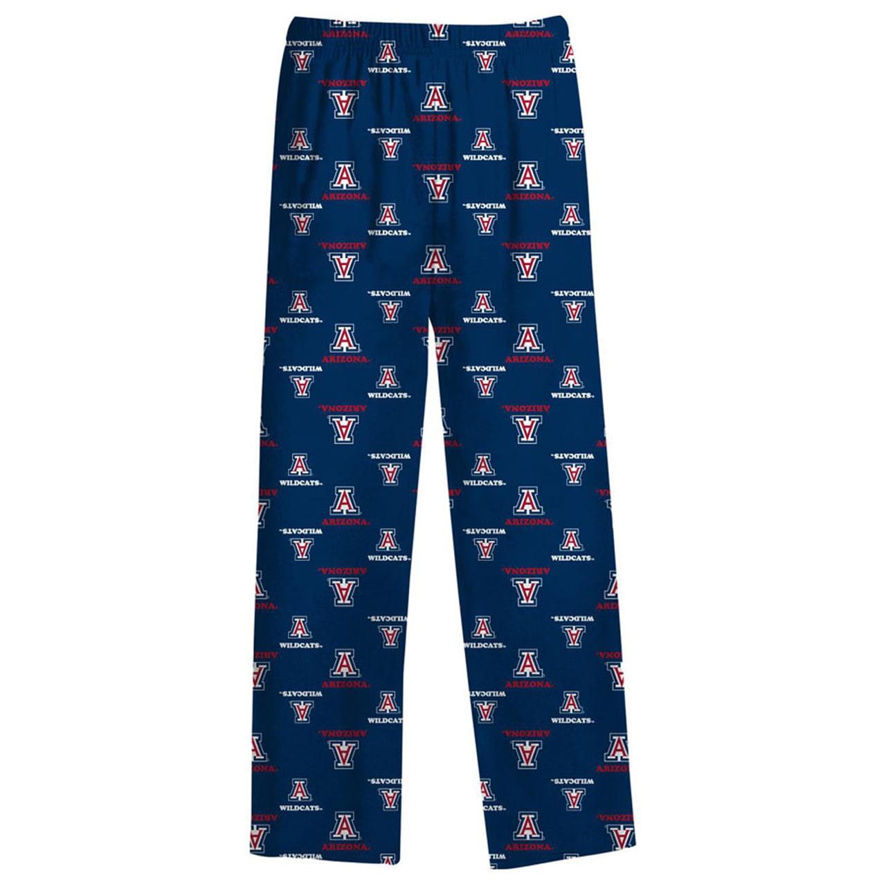 Arizona Wildcats Youth School Logo Pajama Pants Navy by NCAA