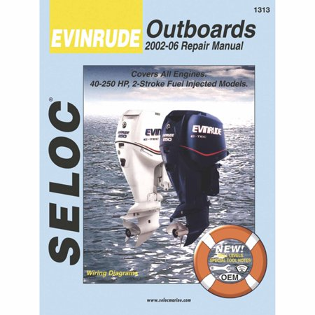 Seloc Marine Manual for Evinrude Outboards, All Engines (Outboard Engine Repair Manuals)