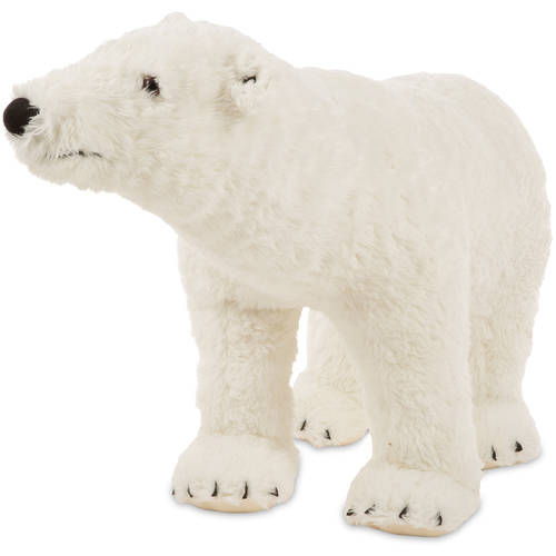 Melissa Doug Giant Polar Bear Lifelike Stuffed Animal Nearly 3