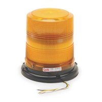 GROTE 77833 Strobe Light, Yellow, Permanent, LED