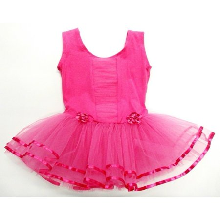 Hot Pink Ruffle - Front Tutu Ballet Dress Girls Xl](Hot Xl Girl)