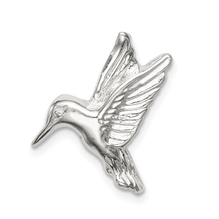 5a980e278 925 Sterling Silver Hummingbird Pendant Charm Necklace Bird Fine Jewelry  Gifts For Women For Her mothers ...
