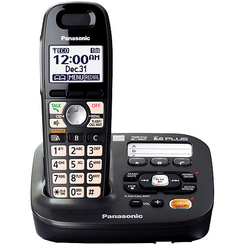 Panasonic KX-TG6591T DECT 6.0 Plus Expandable Digital Answering System with 1 Handset