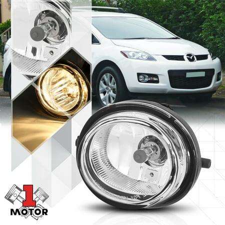 Left OE Style Replacement Fog Light Bumper Lamp for 04-14 Mazda 5/6 Miata MPV 05 06 07 08 09 10 11 12 (Mazda Mpv Bumper Cover)