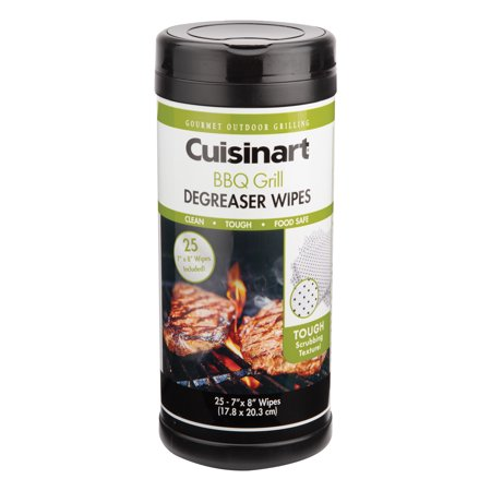 Image of Cuisinart 25 pk Grill Degreaser Wipes - Clean Grease And Grime
