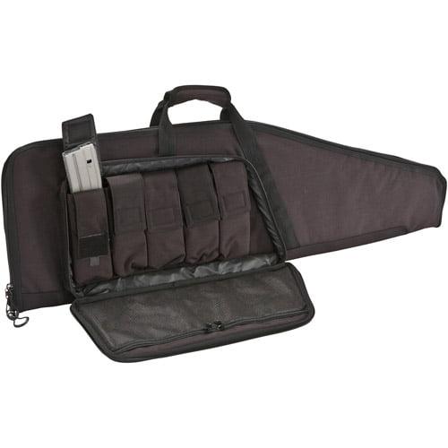 Plano Plano Grab 'n' Go Military Grade Shaped Soft Gun Case, Black