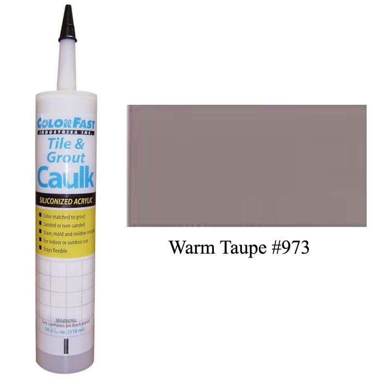Latex Colored Caulk - TEC Color Line: Warm Taupe Unsanded