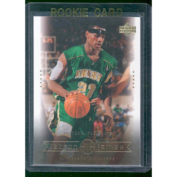 2003 Upper Deck National Accolades 3 Lebron James Rookie Card Walmart Com Walmart Com