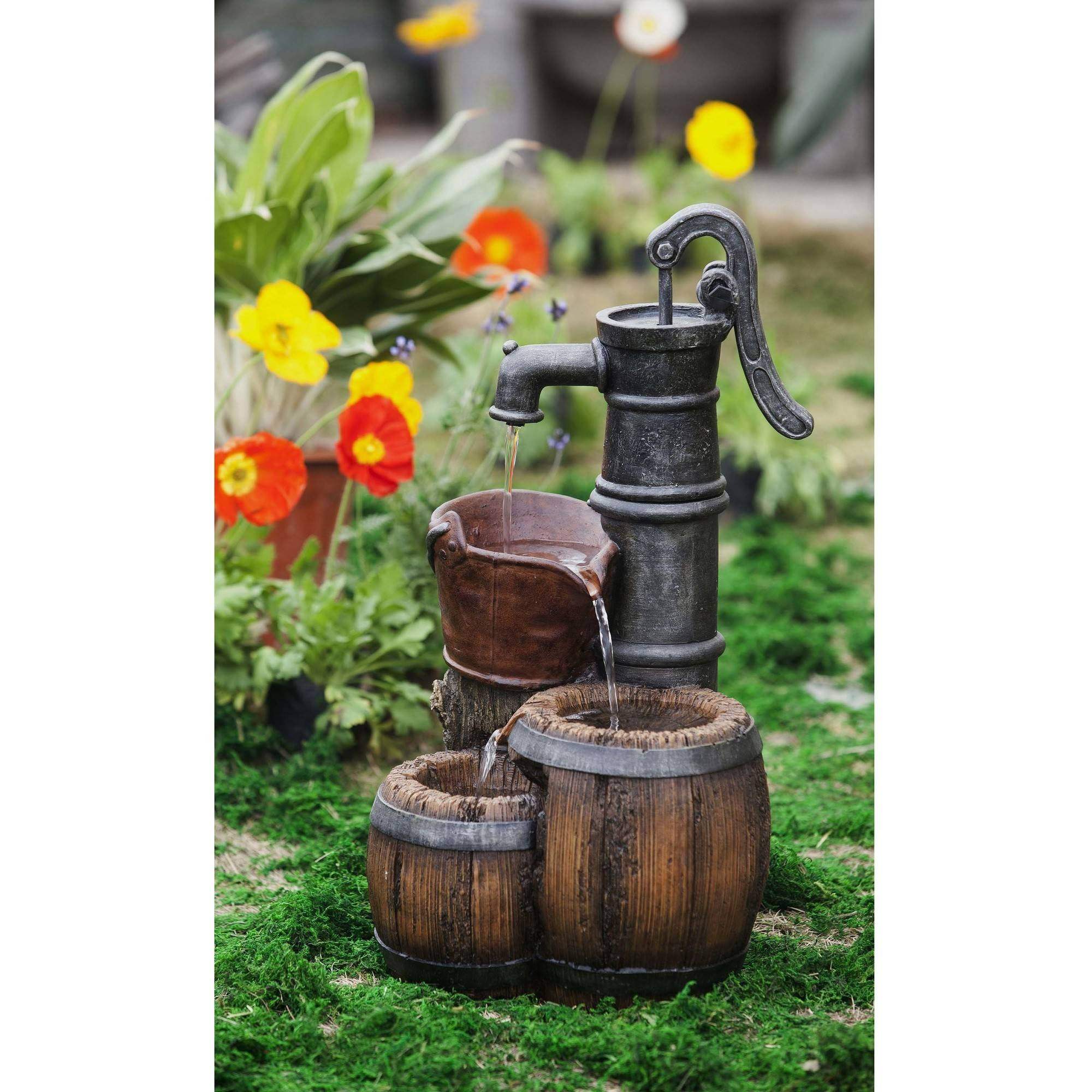 Better Homes And Gardens Water Pump Fountain By Winchoice