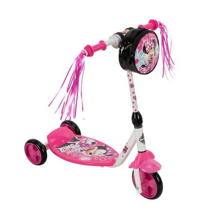 Disney Minnie 3 Wheel Preschool Scooter for Girls by Huffy