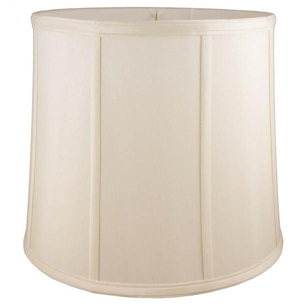 Round Drum Lampshade In Natural 17 In Diam X 19 In H Walmart Com Walmart Com