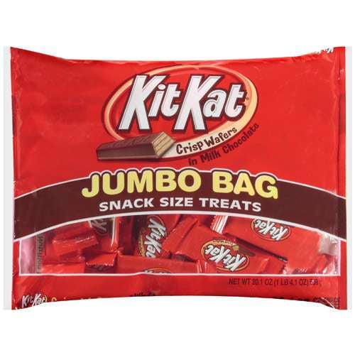 Kit Kat Snack Size Treats Chocolate Candy, 20.1 oz