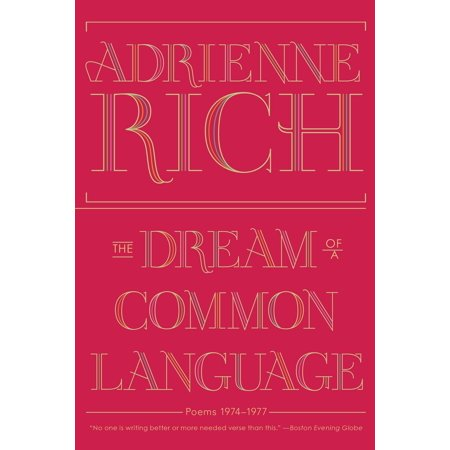 The Dream of a Common Language : Poems 1974-1977