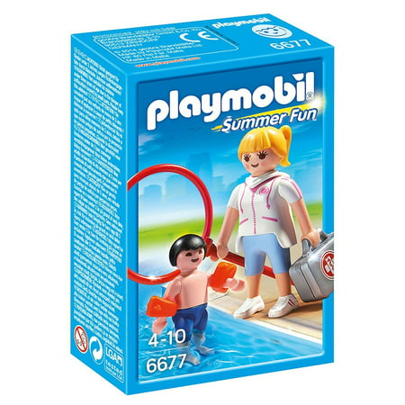 Pool Supervisor - Imaginative Play Set by Playmobil