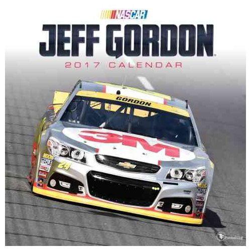 Jeff Gordon 2017 Calendar by Time Factory/TF Publishing