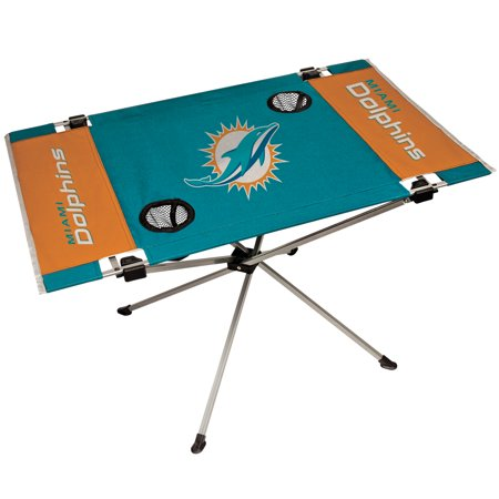 Dolphin Table - Miami Dolphins End Zone Table - No Size