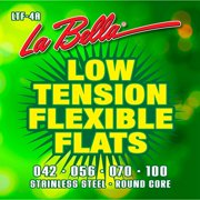 LaBella LTF-4A Low Tension Flexible Flats Electric Bass Strings
