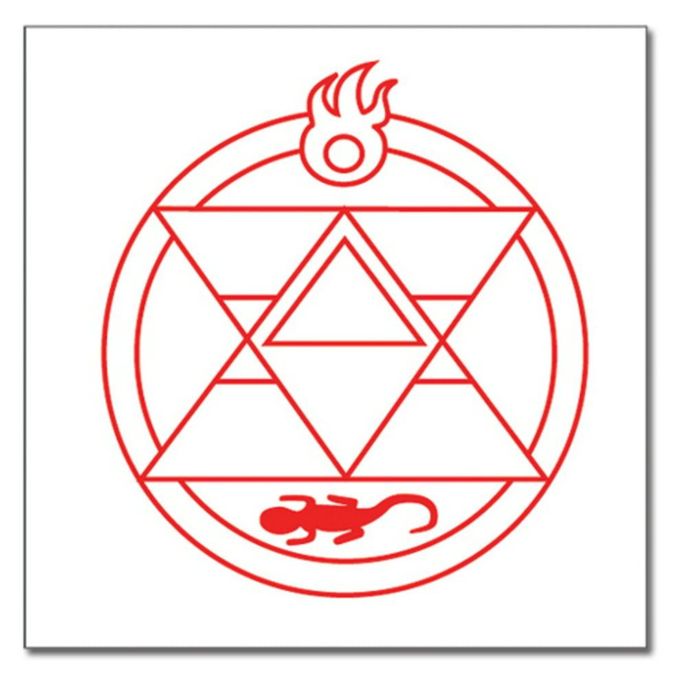 Tattoo - Fullmetal Alchemist - New Roy Reseijin Logo Anime ...