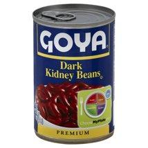 Beans: Goya Dark Kidney Beans Canned