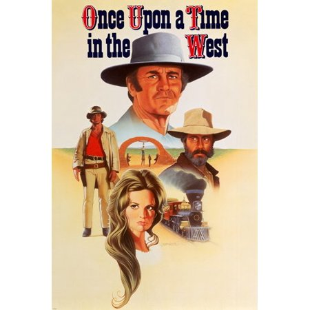 Classic Once Upon A Time In The West Movie Poster Bronson & Fonda 24X36