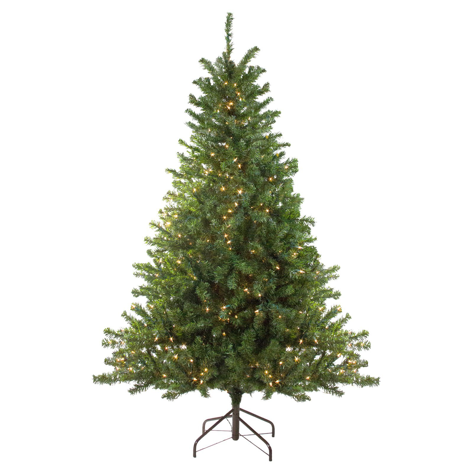 cheap for discount 3e5d0 ffc89 Northlight 10 ft. Pre Lit Artificial Canadian Pine Christmas Tree