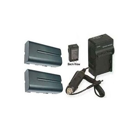 TWO Batteries + Charger for Sony NPF530, Sony NPF550, Sony NPF560, Sony NPF570, Sony CCD-SC55, Sony CCD-SC65 TWO Batteries + Charger for Sony NPF530, Sony NPF550, Sony NPF560, Sony NPF570, Sony CCD-SC55, Sony CCD-SC65