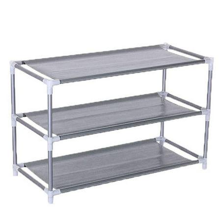 Ktaxon 3 Tier Home Storage Organizer Cabinet Shelf Space Saving Shoe Tower Rack Stand