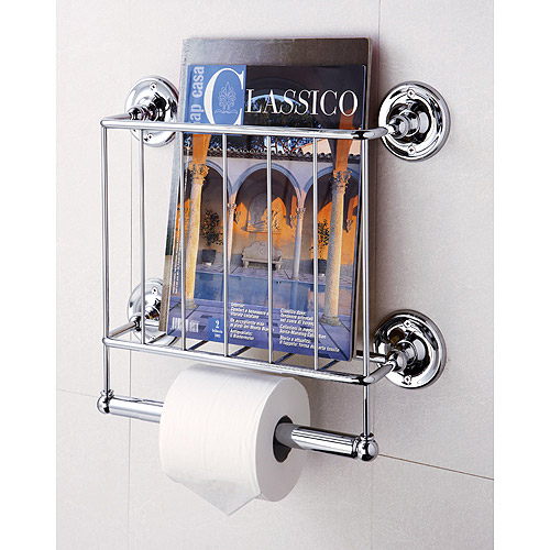 Wall Mount Magazine Rack by Overstock