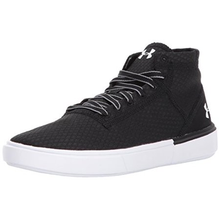 Under Armour Grade School Kickit2 Mid Lightweight Sneaker, (001)/Black,