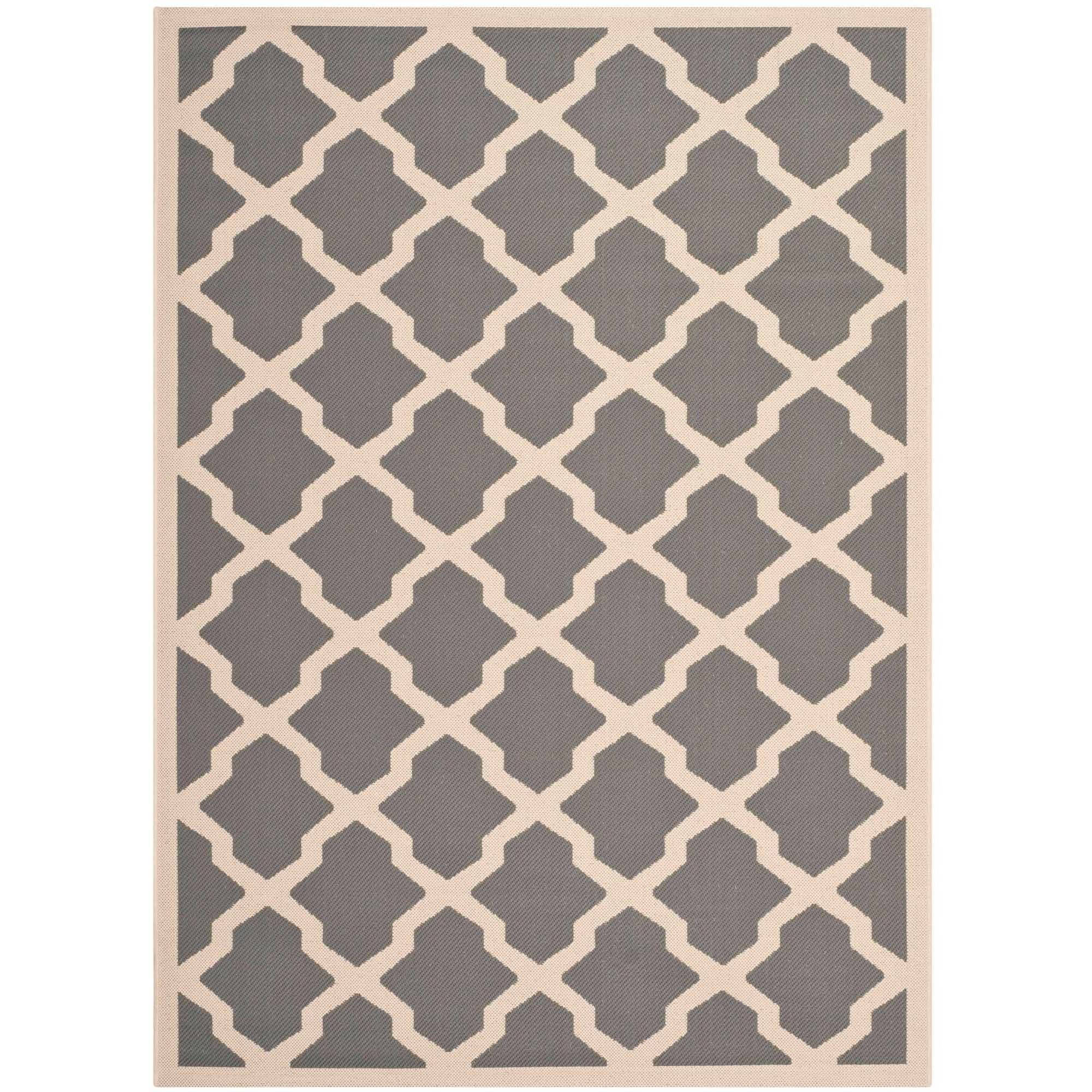 Safavieh Courtyard Amber Power-Loomed Indoor/Outdoor Area Rug or Runner