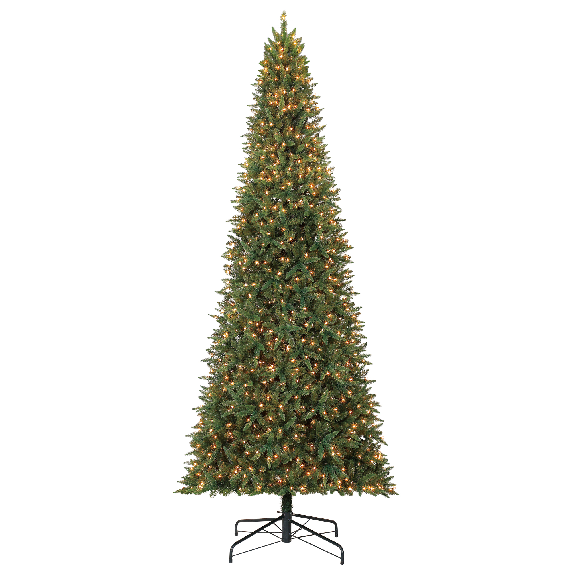 Holiday Time 12ft Pre-Lit Williams Pine Artificial Christmas Tree with 1100 Clear Lights