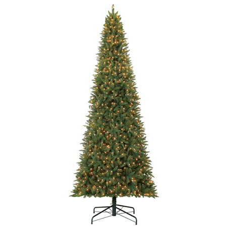 Christmas Tree Server (Holiday Time 12ft Pre-Lit Williams Pine Artificial Christmas Tree with 1100 Clear)
