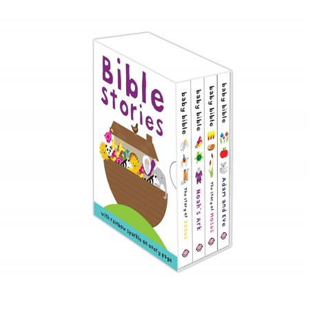 Noahs Ark Baby Shower Tea - Baby's First Bible Boxed Set : The Story of Jesus, Noah's Ark, The Story of Moses, Adam and Eve