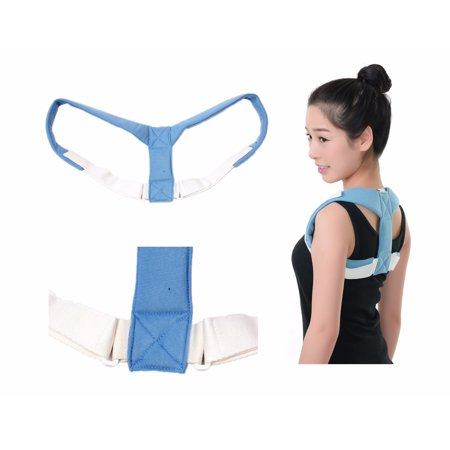CFR Figure 8 Posture Corrector by CFR Kyphosis for Women and Men Shoulder Strap Collarbone Brace Clavicle Collar Bone Splint Back Support - Mens 5 Eye Padded Collar