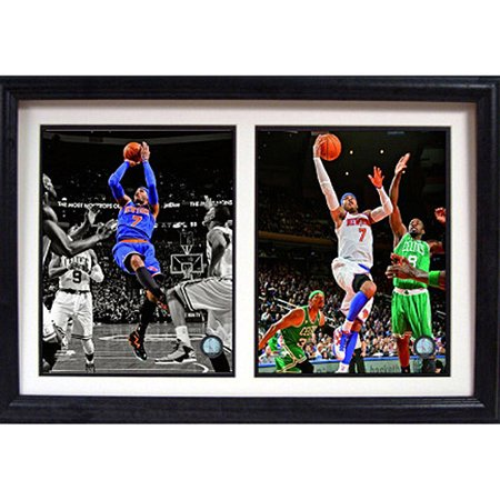 Nba Carmelo Anthony Double Custom Frame  12X18
