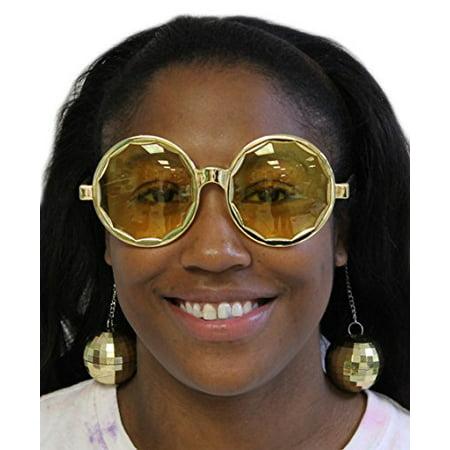 Costume Accessory- Disco Ball Sunglasses (One - Disco Accessories