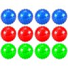 """Set of 12 4"""" Spiky Spiked Ball Childrens Kids Toy Play Ball, Perfect for Indoor/ Outdoor Play, Add On for Sports Playsets (Colors May Vary)"""