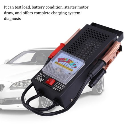 Battery Impedance Tester - Professional 6V And 12V Trucks Auto Car Battery Load Tester LED Display