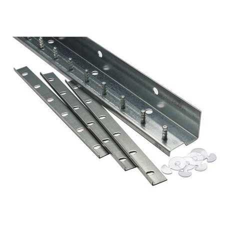 TMI 999-10049 Strip Door Hardware, 3 ft., Aluminum