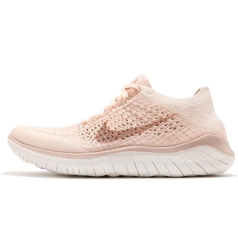 Nike Nike 942839 802 Womens Free Rn Flyknit 2018 Ice Beige Sail