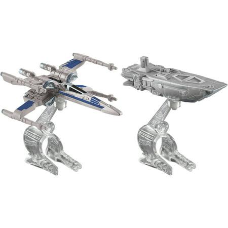 Star Wars Starship - Hot Wheels Star Wars The Force Awakens Starship 2-Pack