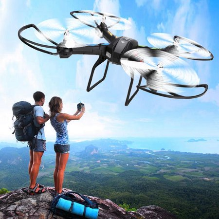2.4G 4CH 6-Axis Gyro Helicopter,RC Quadcopter Aircraft Drone RTF BLLK