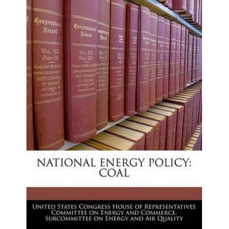 National Energy Policy  Coal