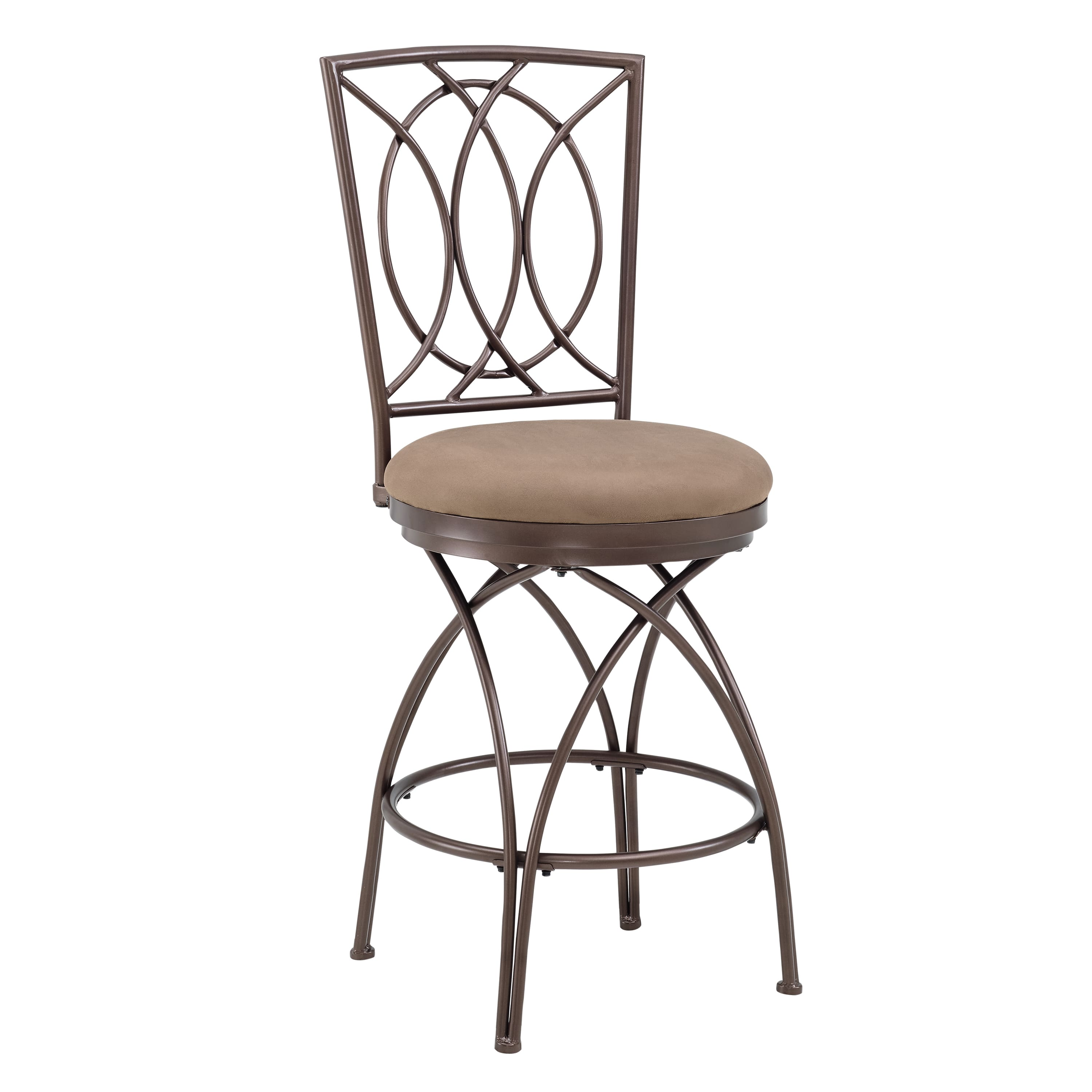 Powell Big and Tall Metal Crossed Legs Bar Stool by Overstock