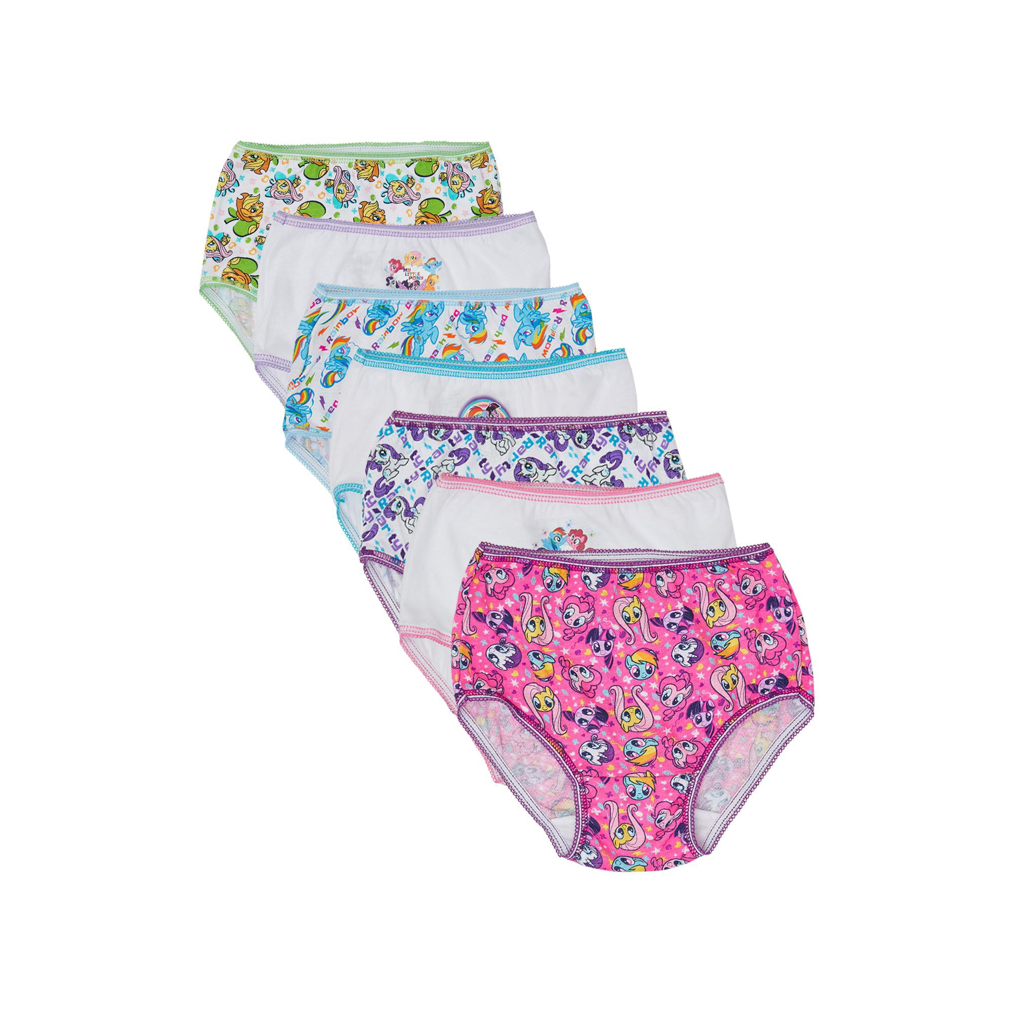 New Girls Children Solid color 100/% Cotton Pantie Underwear Undies Bottoms