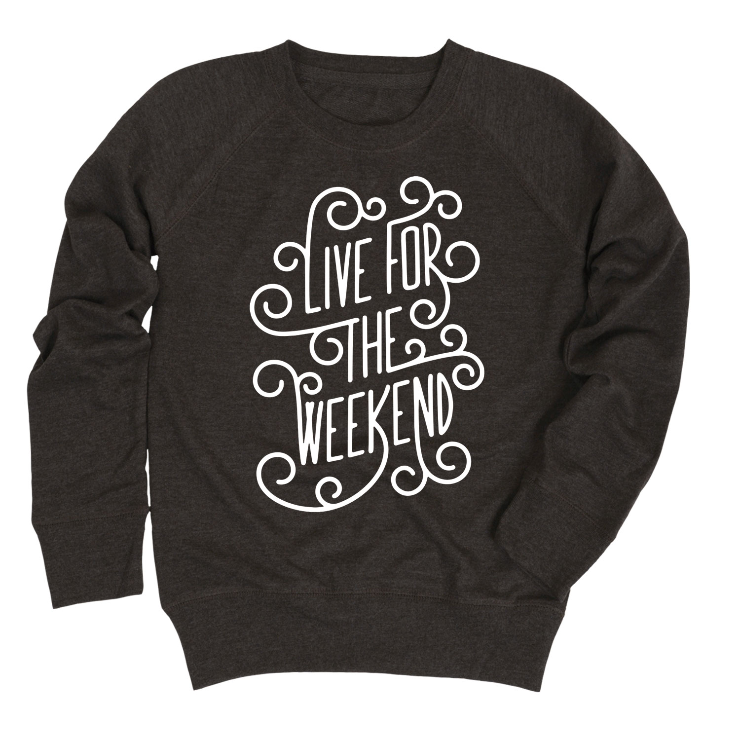 Live for the Weekend - Youth Girl Slouchy Pullover