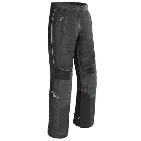 Joe Rocket Cleo Elite Mesh Women's Pant, Black,