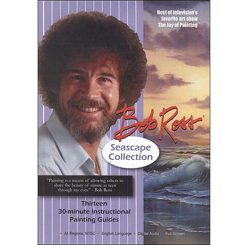 Bob Ross: The Joy Of Painting Seascape Collection by BayView