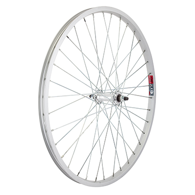 Bicycle Wheel Front 24 x 1.75 ALLOY BOLT-ON